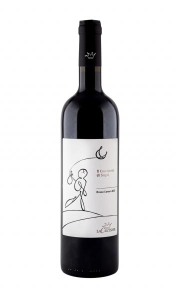 bottiglia di vino rosso Conero