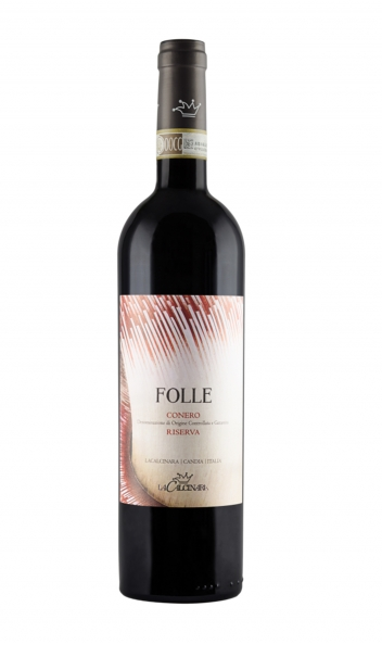 bottiglia di vino Folle de La Calcinara